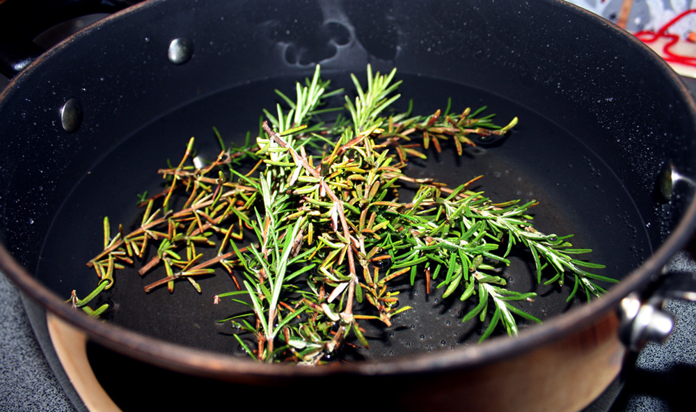 Rosemary Steam Bath