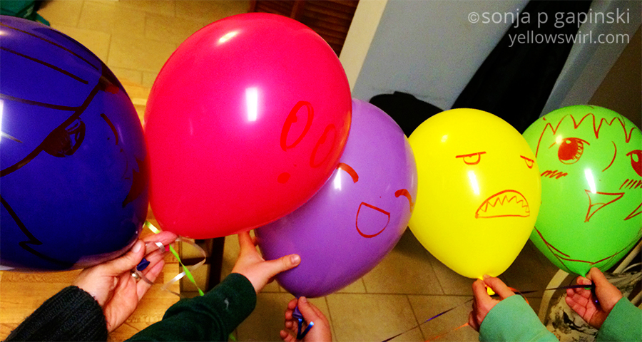the nameless balloons